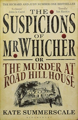 The Best True Crime Books - The Suspicions of Mr. Whicher by Kate Summerscale