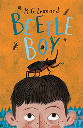 M G Leonard recommends the best Nature Books for Kids - Beetle Boy by M G Leonard