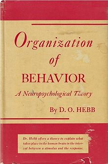 The best books on Cognitive Neuroscience - Organization of Behavior: A Neuropsychological Theory by Donald Hebb