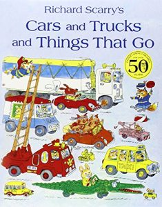 Jon Burgerman on the best Playful Books for Children - Cars and Trucks and Things That Go by Richard Scarry