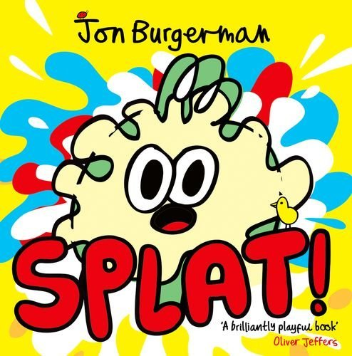 Jon Burgerman on the best Playful Books for Children - Splat! by Jon Burgerman