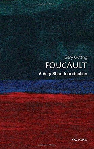 The best books on Foucault - Foucault: A Very Short Introduction by Gary Gutting