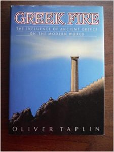 The best books on Ancient Greece - Greek Fire by Oliver Taplin