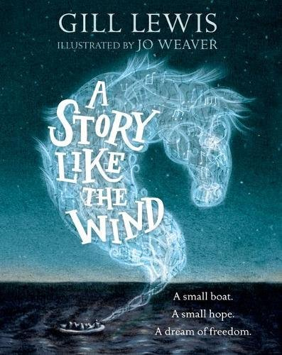 Gill Lewis on Children's Books About the Refugee Crisis - A Story Like the Wind by Gill Lewis