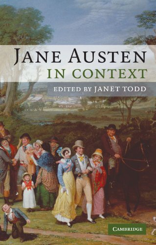 Jane Austen in Context by Janet Todd (editor)