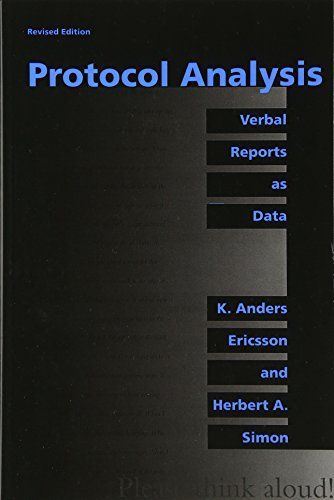 The best books on Educational Testing - Protocol Analysis: Verbal Reports as Data by Ericsson and Simon