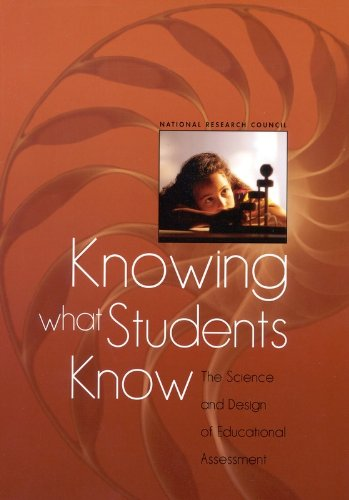 The best books on Educational Testing - Knowing What Students Know: The Science and Design of Educational Assessment by Pellegrino and Chudowsky and Glaser (eds)