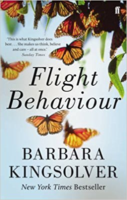 The Best Climate Change Novels - Flight Behaviour by Barbara Kingsolver