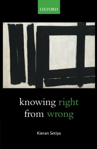 The best books on Midlife Crisis - Knowing Right from Wrong by Kieran Setiya