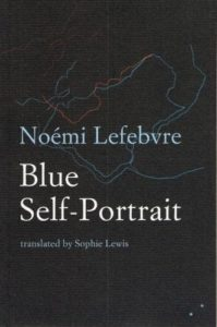 Neil Griffiths recommends the best Indie Fiction of 2017 - Blue Self-Portrait by Noémi Lefebvre