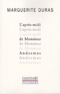 The Afternoon of Mr. Andesmas by Marguerite Duras