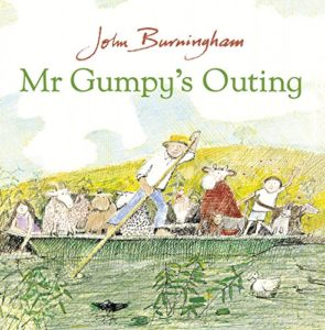 Books about the Weather for Kids - Mr. Gumpy's Outing by John Burningham