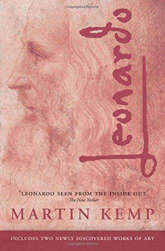 The best books on Leonardo da Vinci - Leonardo by Martin Kemp