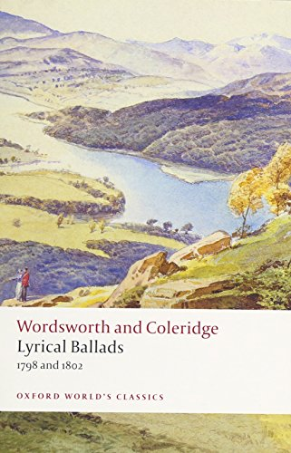 Seamus Perry on The Best Samuel Taylor Coleridge Books - Lyrical Ballads 1798 and 1802 by William Wordsworth and Samuel Taylor Coleridge