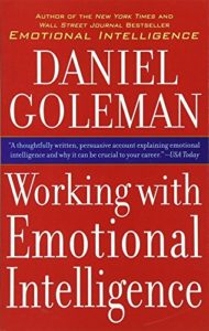 The best books on Emotional Intelligence - Working With Emotional Intelligence by Daniel Goleman
