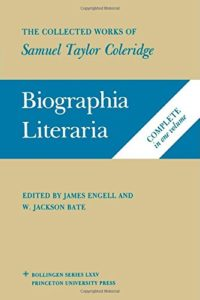 Seamus Perry on The Best Samuel Taylor Coleridge Books - Biographia Literaria by Samuel Taylor Coleridge
