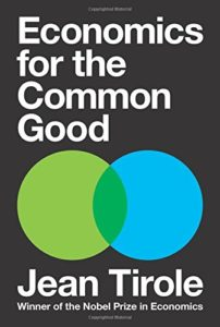 Best Economics Books of 2017 - Economics for the Common Good by Jean Tirole