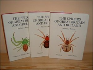 The best books on Spiders - Spiders of Great Britain and Ireland by Michael J Roberts