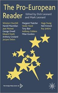 The best books on The European Union - The Pro-European Reader by Dick Leonard and Mark Leonard (eds)