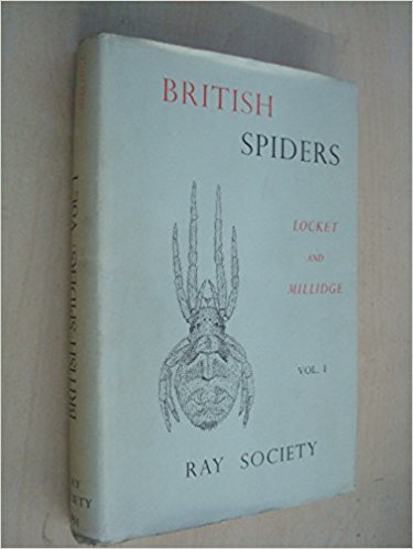 The best books on Spiders - British Spiders by G H Millidge and A F Locket
