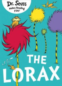 Best Environmental Books for Kids - The Lorax by Dr Seuss