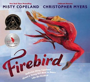 Books on Black Icons for Children - Firebird by Misty Copeland