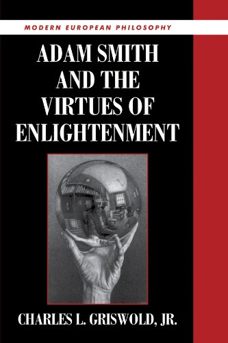 The Best Adam Smith Books: Adam Smith and the Virtues of Enlightenment by Charles Griswold
