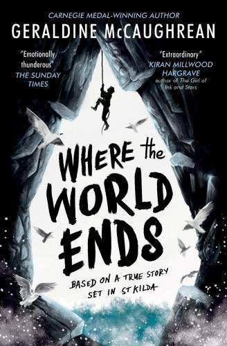 Geraldine McCaughrean on Her Books Based on True Events - Where the World Ends by Geraldine McCaughrean