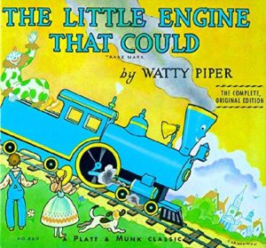 The best books on Moral Character - The Little Engine That Could by Watty Piper