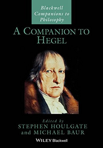 The best books on Hegel - A Companion to Hegel by Stephen Houlgate