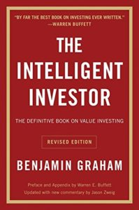 Best Investing Books for Beginners - The Intelligent Investor by Benjamin Graham