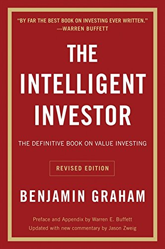 Best Investment Books for Beginners - The Intelligent Investor by Benjamin Graham