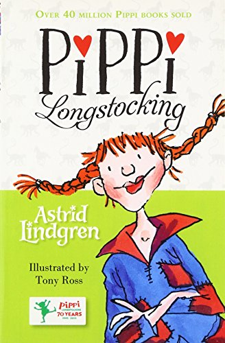 The best books on Happiness for Children - Pippi Longstocking by Astrid Lindgren