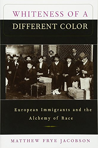 The best books on Immigration - Whiteness of a Different Color: European Immigrants and the Alchemy of Race by Matthew Frye Jacobson