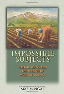 The best books on Immigration - Impossible Subjects: Illegal Aliens and the Making of Modern America by Mae M. Ngai