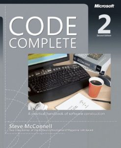 The best books on Computer Science and Programming - Code Complete: A Practical Handbook of Software Construction by Steve McConnell