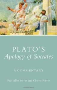 The best books on Learning Ancient Greek - Plato's Apology of Socrates: A Commentary (Ancient Greek) by Paul Allen Miller and Charles Platter