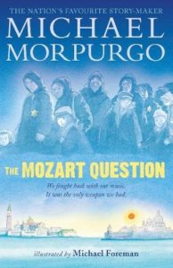 Best Music Books for Kids - The Mozart Question by Michael Morpurgo