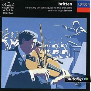 Best Music Books for Kids - The Young Person's Guide to the Orchestra by Benjamin Britten