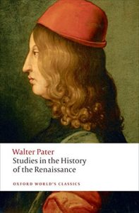 David Russell on The Victorian Essay - Studies in the History of the Renaissance by Walter Pater