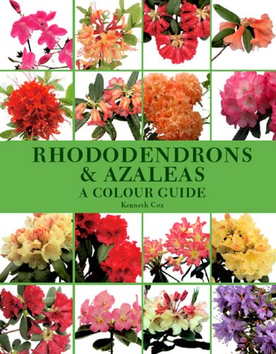 The best books on Plants and Plant Hunting - Rhododendrons and Azaleas: A Colour Guide by Kenneth Cox