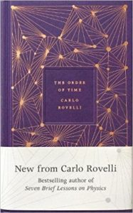 The Best Science Books to Take on Holiday - The Order of Time by Carlo Rovelli
