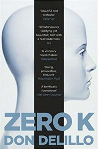 The best books on Transhumanism - Zero K by Don DeLillo