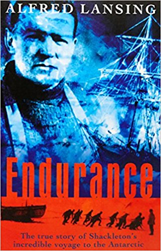 The best books on Ice - Endurance: Shackleton's Incredible Voyage to the Antarctic by Alfred Lansing