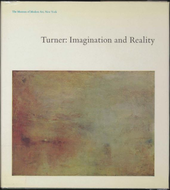 Andrew Graham-Dixon on His Favourite Art Books - Turner: Imagination and Reality by Lawrence Gowing
