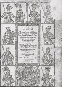 Robert S Miola on Shakespeare's Sources - Holinshed's Chronicles by Raphael Holinshed