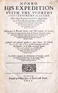 The best books on The Thirty Years War - Monro, His expedition with the worthy Scots regiment (called Mac-Keyes-regiment) levied in August 1626 by Robert Monro