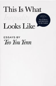The best books on Singapore - This Is What Inequality Looks Like by Teo You Yenn