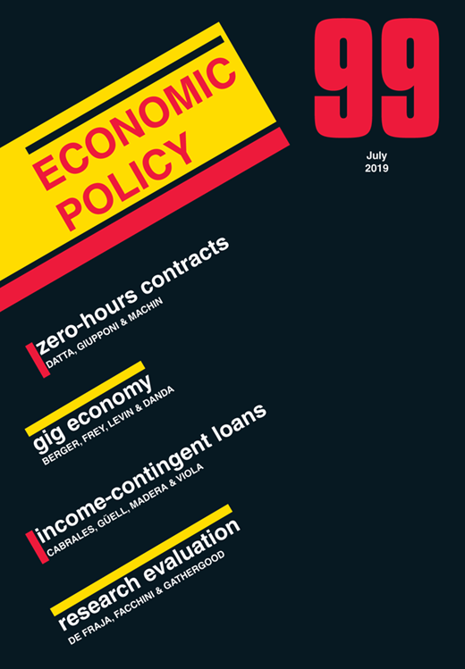 The Liquidation of Government Debt (Economic Policy, Volume 30, Issue 82, April 2015) by Carmen Reinhart & M. Belen Sbrancia