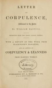 Diet Books - Letter on Corpulence, Addressed to the Public by William Banting